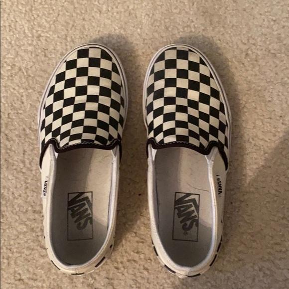 Vans Shoes   Checkered   Poshmark
